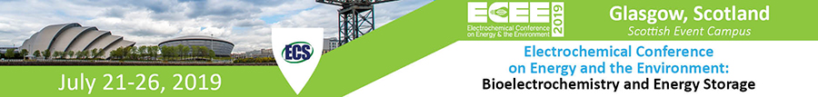 Electrochemical Conference on Energy and the Environment (ECEE 2019): Bioelectrochemistry and Energy Storage (July 21-26, 2019)